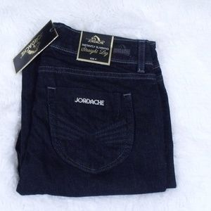 Jordache Instantly Slimming Straight Leg Jeans